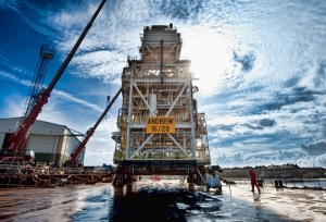 BP's Andrew platform in the North Sea. Image courtesy of BP.