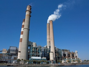 Big Bend Coal Power Station in Apollo Beach, Florida, US.