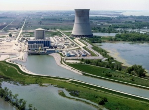 Davis-Besse Nuclear Power Station, Oak Harbor, Ohio. Image courtesy of Nuclear Regulatory Commission.