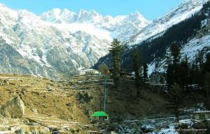 The mountainous region of North West Pakistan where the Sarhad Rural Support Programme (SRSP) has brought hydro power. Credit: SRSP