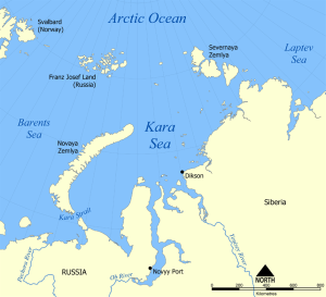 ExxonMobil and Rosneft have made deals to develop oil reserves in the Kara Sea.