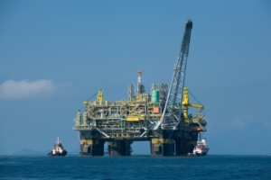 Oil platform P-51, the first 100-percent Brazilian oil platform.