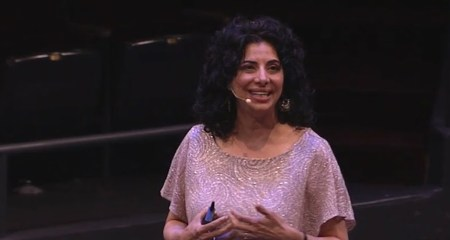 XPRIZE's Zenia Tata talks abut how technology can lead the way in social change. Pic: Devex/YouTube